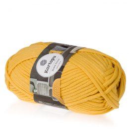 Kartopu Home Decor K1321 żółty. Kod EAN 8681906020433 - miękki, bawełniany sznurek.