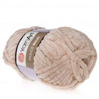 yarn art dolce maxi 776 gruba pluszowa włóczka w kolorze jasne lawendy. Większa siostra sławnej Dolphin Baby, idealna na zabawki lub koce
