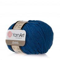 Włóczka Yarn Art Jeans 17 w kolorze borówkowym to kultowa propozycja największego tureckiego producenta. Jej skład to mieszanka bawełny z akrylem.