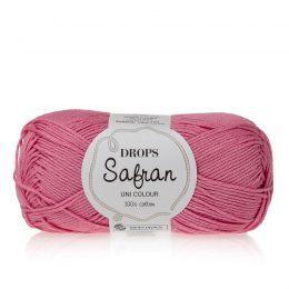 Drops Safran 2 cukierkowy róż. 100% wytrzymała, miękka, bawełna egipska, z certyfikatem Standard 100 by Oeko-Tex. Produkowana w Europie.