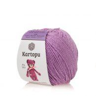 Kartopu Amigurumi K1709 wrzosowy to akrylowo-bawełniana włóczka idealna na zabawki amigurumi.Alternatywa dla Yarn Art Jeans 50g/130m