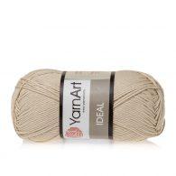 Yarn Art Ideal 223 beżowy. 100% bawełny od kultowego tureckiego producenta, w przyjaznej cenie:) Idealna na zabawki i ubrania.