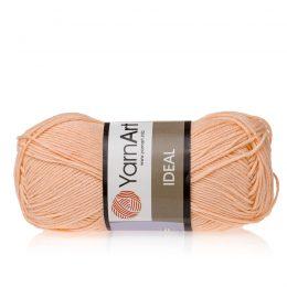 Yarn Art Ideal 225 morelowy. 100% bawełny od kultowego tureckiego producenta, w przyjaznej cenie:) Idealna na zabawki i ubrania.