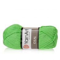 Yarn Art Ideal 226 kermitowy. 100% bawełny od kultowego tureckiego producenta, w przyjaznej cenie:) Idealna na zabawki i ubrania.