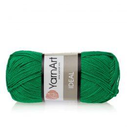 Yarn Art Ideal 227 choinkowy. 100% bawełny od kultowego tureckiego producenta, w przyjaznej cenie:) Idealna na zabawki i ubrania.