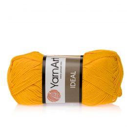 Yarn Art Ideal 228 słoneczny. 100% bawełny od kultowego tureckiego producenta, w przyjaznej cenie:) Idealna na zabawki i ubrania.