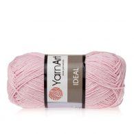 Yarn Art Ideal 229 jasny róż. 100% bawełny od kultowego tureckiego producenta, w przyjaznej cenie:) Idealna na zabawki i ubrania.