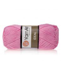 Yarn Art Ideal 230 cukierkowy róż. 100% bawełny od kultowego tureckiego producenta, w przyjaznej cenie:) Idealna na zabawki i ubrania.