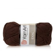 Yarn Art Ideal 232 brązowy. 100% bawełny od kultowego tureckiego producenta, w przyjaznej cenie:) Idealna na zabawki i ubrania.