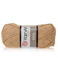 Yarn Art Ideal 233 ciepły beż. 100% bawełny od kultowego tureckiego producenta, w przyjaznej cenie:) Idealna na zabawki i ubrania.