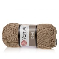 Yarn Art Ideal 234 lniany. 100% bawełny od kultowego tureckiego producenta, w przyjaznej cenie:) Idealna na zabawki i ubrania.