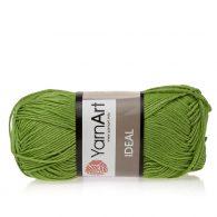 Yarn Art Ideal 235 trawiasty. 100% bawełny od kultowego tureckiego producenta, w przyjaznej cenie:) Idealna na zabawki i ubrania.