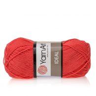 Yarn Art Ideal 236 koralowy. 100% bawełny od kultowego tureckiego producenta, w przyjaznej cenie:) Idealna na zabawki i ubrania.