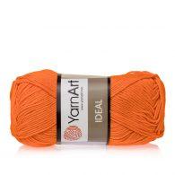 Yarn Art Ideal 242 pomarańczowy. 100% bawełny od kultowego tureckiego producenta, w przyjaznej cenie:) Idealna na zabawki i ubrania.