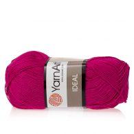Yarn Art Ideal 243 malinowy. 100% bawełny od kultowego tureckiego producenta, w przyjaznej cenie:) Idealna na zabawki i ubrania.