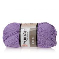 Yarn Art Ideal 245 lawenda. 100% bawełny od kultowego tureckiego producenta, w przyjaznej cenie:) Idealna na zabawki i ubrania.