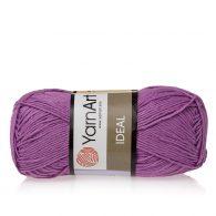 Yarn Art Ideal 246 wrzosowy. 100% bawełny od kultowego tureckiego producenta, w przyjaznej cenie:) Idealna na zabawki i ubrania.
