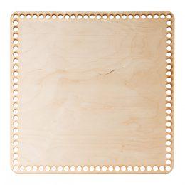Baza do koszyka ze sznurka kwadratowa gładka o wymiarach 36x36