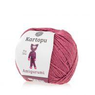 Kartopu Amigurumi K1749 śliwka to akrylowo-bawełniana włóczka idealna na zabawki amigurumi.Alternatywa dla Yarn Art Jeans 50g/130m