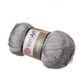 Yarn Art Rapido 679 szary biały to cudnie połyskująca włóczka stworzona ze 100% mikrofibry idealna na stroje kąpielowe. Na szydełko 3mm, druty 2.5mm. 100g/350m