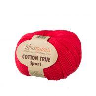 Fibranatura Cotton True Sport 107-02 to wysokiej jakości turecka bawełna 100%. Doskonale nadaje się na zabawki dla maluchów, ubranka, sukienki.