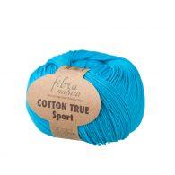 Fibranatura Cotton True Sport 107-08 to wysokiej jakości turecka bawełna 100%. Doskonale nadaje się na zabawki dla maluchów, ubranka, sukienki.