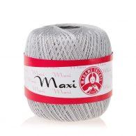Madame Tricote Paris Maxi 4920, kolor szary. Jest to 100% bawełna merceryzowana w czarnym kolorze. Idealny na świąteczne ozdoby