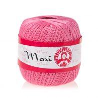 Madame Tricote Paris Maxi 5001, kolor różowy. Jest to 100% bawełna merceryzowana w czarnym kolorze. Idealny na świąteczne ozdoby