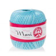 Madame Tricote Paris Maxi 5353, kolor błękitny. Jest to 100% bawełna merceryzowana w czarnym kolorze. Idealny na świąteczne ozdoby