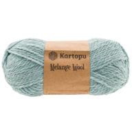 Kartopu Melange Wool MK480 to miękka akrylowo-wełniana włóczka idealna na swetry, czapki, szaliki i inne akcesoria zimowe.