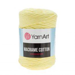 Yarn Art Macrame Cotton 754 - makramowy sznurek tureckiej firmy. Mieszanka bawełny z poliestrem, 250g/225m. Doskonały na sznurkowe projekty i makatki.