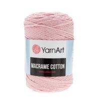 Yarn Art Macrame Cotton 762- makramowy sznurek tureckiej firmy. Mieszanka bawełny z poliestrem, 250g/225m. Doskonały na sznurkowe projekty i makatki.