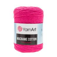 Yarn Art Macrame Cotton 771 - makramowy sznurek tureckiej firmy. Mieszanka bawełny z poliestrem, 250g/225m. Doskonały na sznurkowe projekty i makatki.