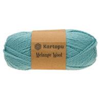 Kartopu Melange Wool k5017 miękka akrylowo-wełniana włóczka idealna na swetry, czapki, szaliki i inne akcesoria zimowe.