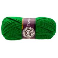 Madame Tricote Paris Tango 120 zielony. Mięciutka w dotyku akrylowa włóczka o ciekawej strukturze skręconych ze sobą kilku nitek. Elastyczna i gruba.