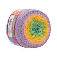 Yarn Art Flowers 285 to propozycja na chusty i tuniki czy sukienki. Paleta włóczki posiada cieniowane kolory.Motki o wadze 250g mają aż 1000 metrów!