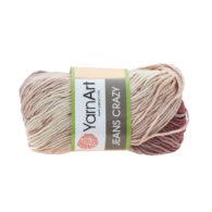 Yarn Art Jeans Crazy 8201 cieniowana kolorowa włóczka do amigurumi. 50 g włóczki to 160m przędy od tureckiego producenta.