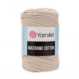 Yarn Art Macrame Cotton 753- makramowy sznurek tureckiej firmy. Mieszanka bawełny z poliestrem, 250g/225m. Doskonały na sznurkowe projekty i makatki.
