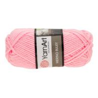 Yarn Art Merino Bulky 217 w kolorze różu to cieplutka wełniano-akrylowo włóczka idealna na czapki, swetry, szale czy koce.
