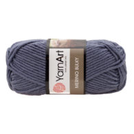 Yarn Art Merino Bulky 3864 w kolorze jeansowym to cieplutka wełniano-akrylowo włóczka idealna na czapki, swetry, szale czy koce.