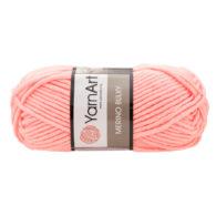 Yarn Art Merino Bulky 565 w kolorze łososiowym to cieplutka wełniano-akrylowo włóczka idealna na czapki, swetry, szale czy koce.