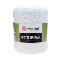 Włóczka Yarn Art Twisted Macrame 751 - luźno skręcany sznurek idealny do makramy i modnych makramowych piórek. W 500g znajdziemy 210m.