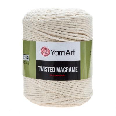 Włóczka Yarn Art Twisted Macrame 752 - luźno skręcany sznurek idealny do makramy i modnych makramowych piórek. W 500g znajdziemy 210m.