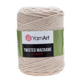 Włóczka Yarn Art Twisted Macrame 753 - luźno skręcany sznurek idealny do makramy i modnych makramowych piórek. W 500g znajdziemy 210m.