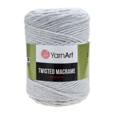 Włóczka Yarn Art Twisted Macrame 756 - luźno skręcany sznurek idealny do makramy i modnych makramowych piórek. W 500g znajdziemy 210m.