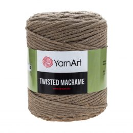 Włóczka Yarn Art Twisted Macrame 768 - luźno skręcany sznurek idealny do makramy i modnych makramowych piórek. W 500g znajdziemy 210m.