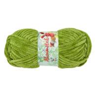 Opus Natura Aksamitek 122 w kolorze zieleni to pluszowa, gruba włóczka, wykonana z poliestru. Dzięki swej miękkości jest idealna do tworzenia zabawek.