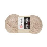 Włóczka Yarn Art Alpine Angora 333 to bardzo miękka i niezwykle ciepła mieszanka wełny i akrylu. Paleta włóczki posiada piękne pastelowe kolory.