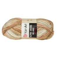 Włóczka Yarn Art Alpine Angora Melange 430to bardzo miękka i niezwykle ciepła mieszanka wełny i akrylu. Paleta włóczki posiada piękne melanżowe kolory