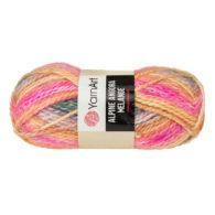 Włóczka Yarn Art Alpine Angora Melange 431to bardzo miękka i niezwykle ciepła mieszanka wełny i akrylu. Paleta włóczki posiada piękne melanżowe kolory.